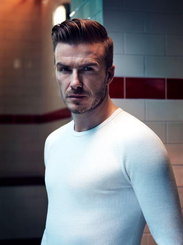 DAVID Beckham is set to star at the Super Bowl, wearing only his underwear and a smouldering stare. The black and white commercial is a visual ode to Beckham and his new bodywear collection, born.
