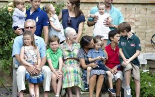 Den kongelige familie på Gråsten