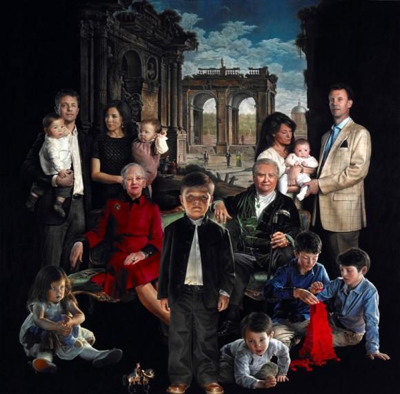 Familia_real_Dinamarca_retrato