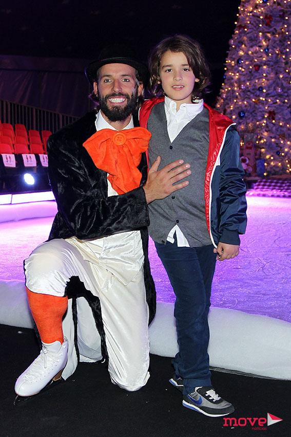 Ricardo Guedes com o filho Tiago
