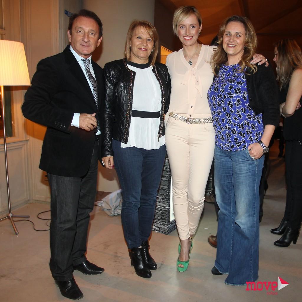 Fernando Póvoas, Ana Maria Póvoas,Marisa Cruz e Isabel Paciência