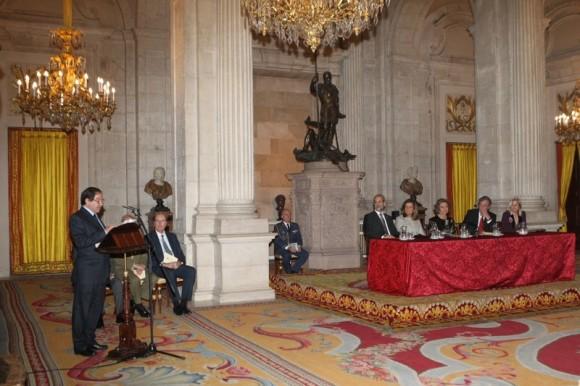 Nuno Júdice Durante o discurso