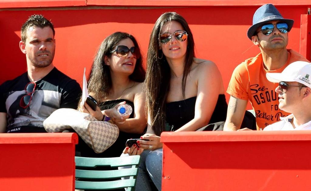 Jorge Ribeiro e Carlos Martins com as respectivas mulheres