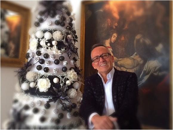 A original árvore de Natal de Manuel Luís Goucha