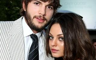 Mila Kunis e Ashton Kutcher foram pais de uma menina, Wyatt, em setembro.