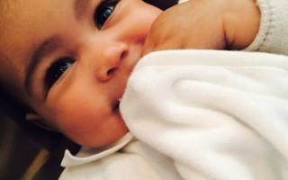 North West, filha de Kim Kardashian e Kanye West