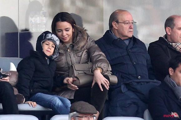 Fernanda com o filho, João e Pinto da Costa