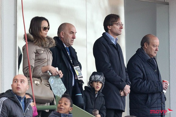 Alexandre Pinto da Costa também assistiu ao jogo
