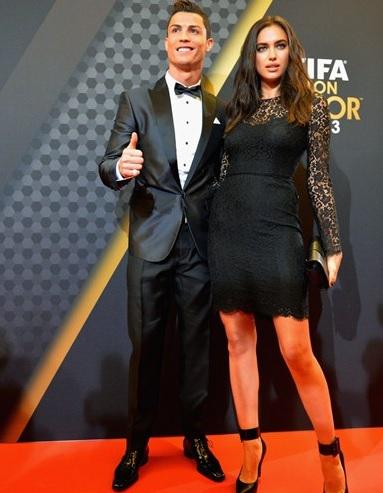 Cristiano e Irina
