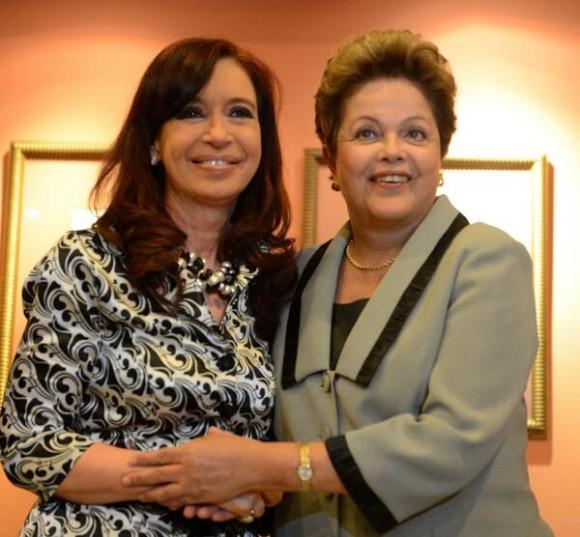 Cristina Kirchner desculpou-se a Dilma Rousseff pela ausência na final do Mundial