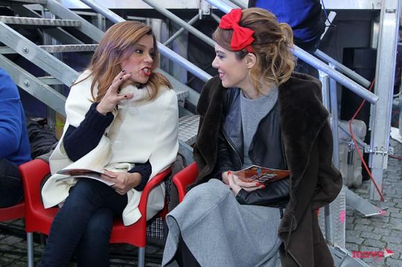 À conversa com Rita Ferro Rodrigues numa pausa do programa