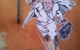 Papa Francisco Grafiti