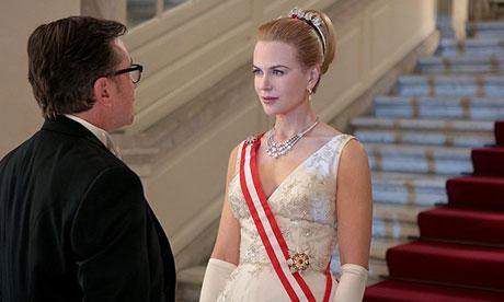 Nicole Kidman no papel de Grace Kelly
