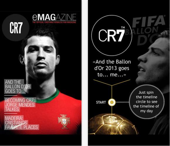 CR7 revista
