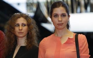 Maria Alyokhina e Nadezhda Tolokonnikova