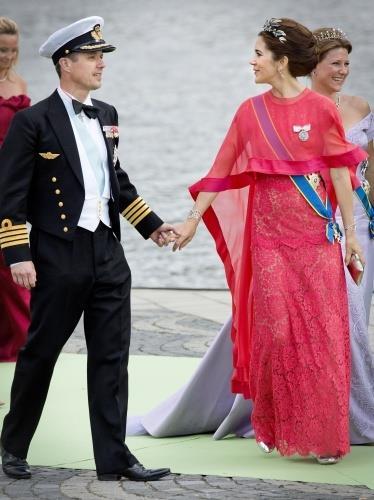 Os príncipes da Dinamarca, Mary e Frederico