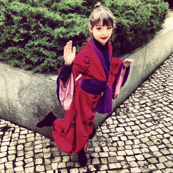 Filha de Bárbara Taborda  é foi uma princesa japonesa