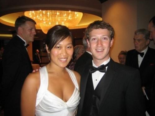 Casal Mark Zuckerberg e Priscilla Chan