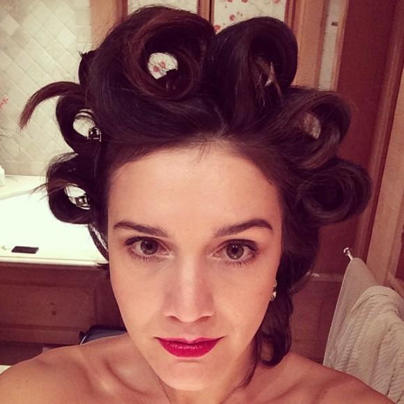 Margherita Missoni publica publica foto a arranjar-se para a festa