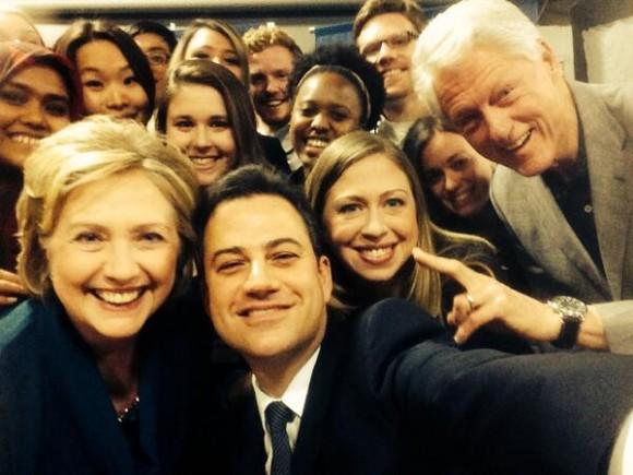 Jimmy Kimmel Clinton