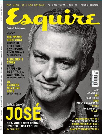 Mourinho Esquire