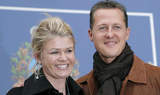 Schumacher e a mulher, Corinna