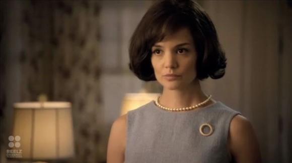 "Katie Holmes foi Jackie Kennedy em ""The Kennedys"""