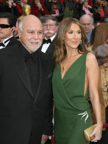 Celine com o marido, Rene Angelil