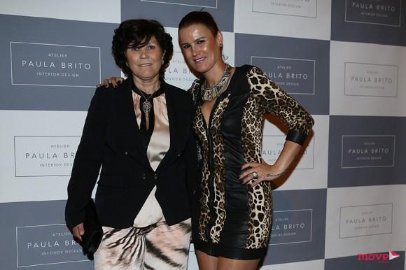 Dolores Aveiro com a filha Elema