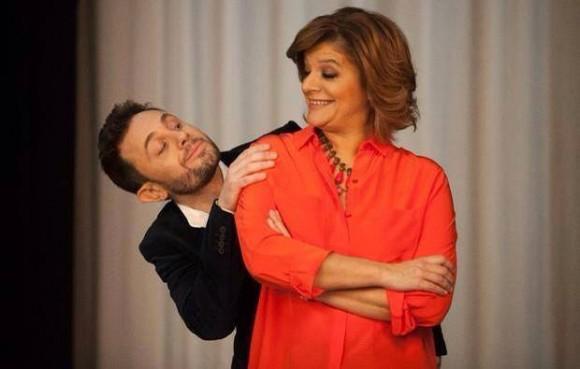 João Paulo Rodrigues com Júlia Pinheiro