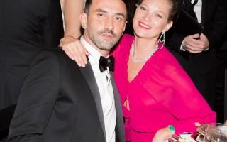 Riccardo Tisci and Kate Moss