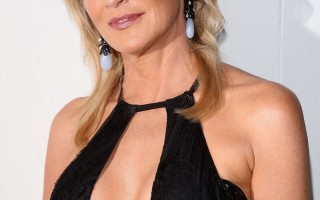 SHARON STONE at amfAR Milano