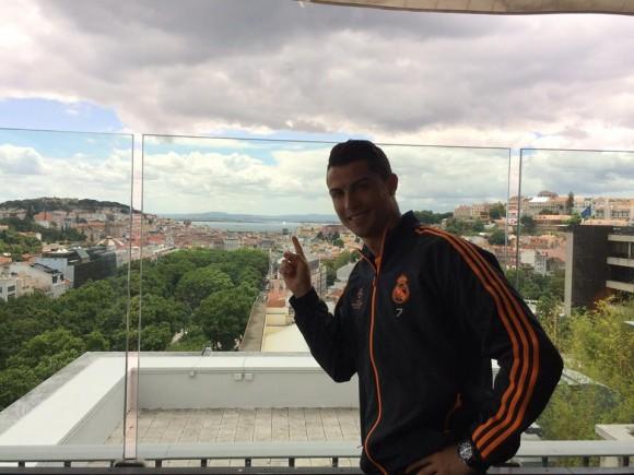 CR7 fala sobre Lisboa
