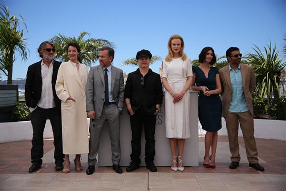 """O elenco com o realizador de """"Grace de Mónaco"""""""