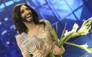 Conchita Wurst, um travesti, venceu a 59.ª edição do Festival Eurovisão. O visual da artista deu muito que falar.