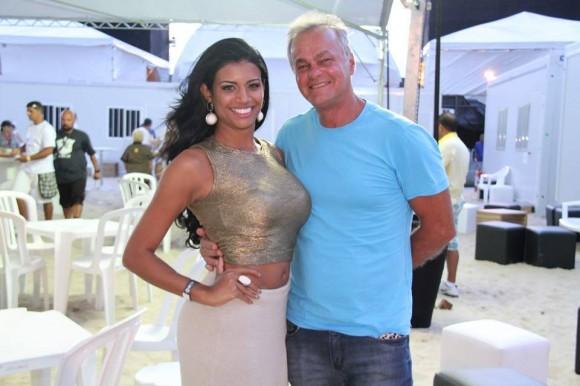 Kadu Moliterno e Brisa Ramos