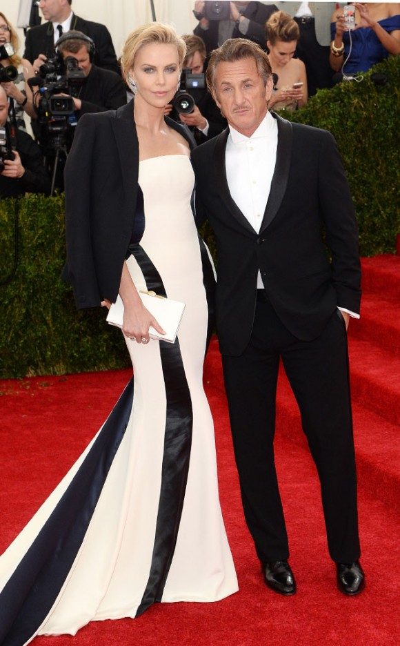 MET Ball14_Charlize Theron e Sean penn