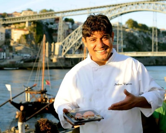 Sushi-Chef Stefano Figliuzzi