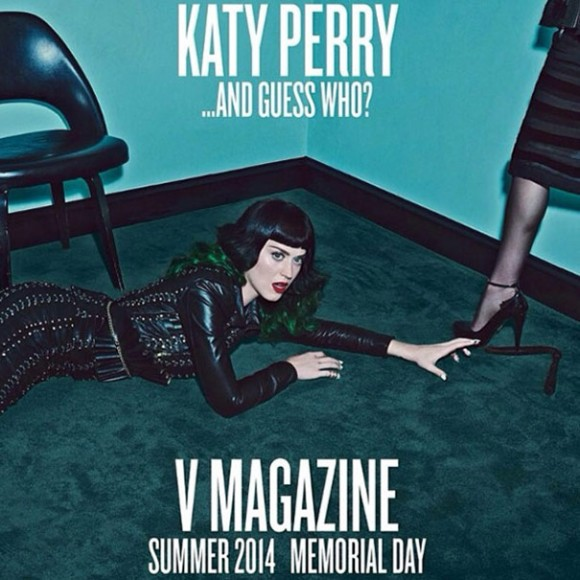 V Magazine Katy Perry e Madonna