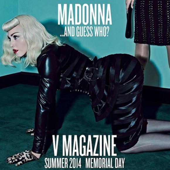 V Magazine Katy Perry e Madonna1