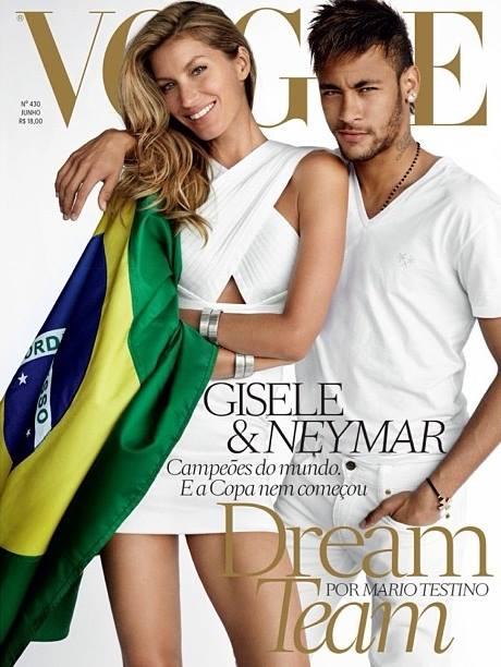 Vogue Gisele e Neymar