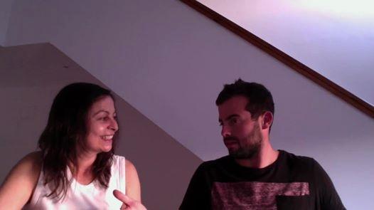 Manzarra com a mãe, Célia Bastos