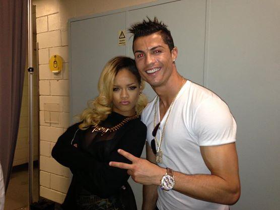 CR7 Rihanna