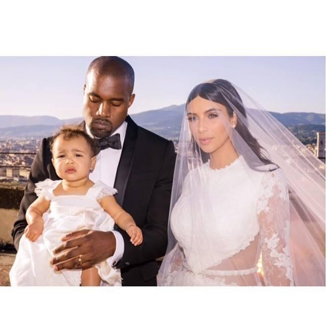 North West é a primogénita do casal