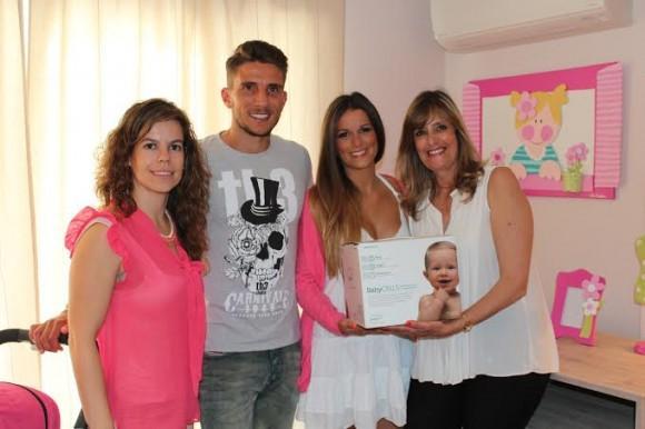 Daniel Carriço e a mulher com a diretora Ibérica da wideCELLS e Carla Andrade, delegada da wideCELLS