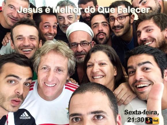 selfie jorge jesus