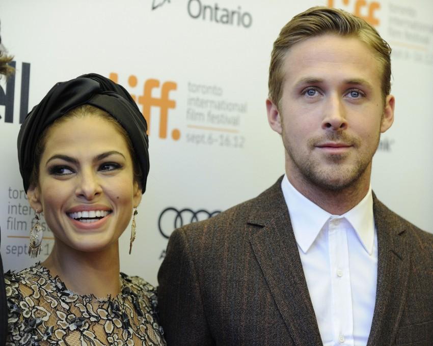 Eva Mendes e Ryan Gosling foram pais de uma menina em setembro de 2014
