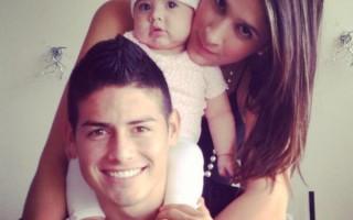 O casal com a filha