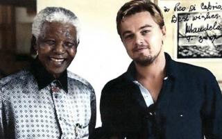 Leonardo Di Caprio Mandela