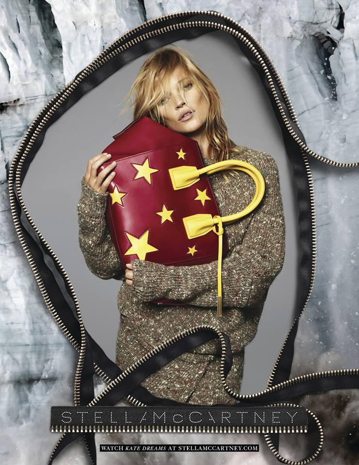 e15121f903d6e Kate Moss protagoniza nova campanha de Stella McCartney - MoveNotícias